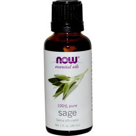 Now Foods, Essential Oils, Sage 30ml