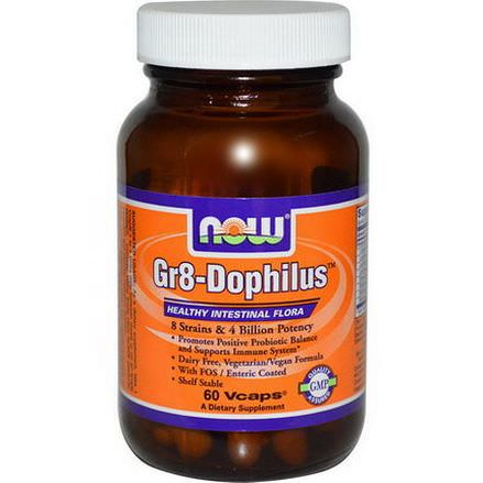 Now Foods, Gr8-Dophilus, 60 Vcaps