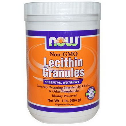Now Foods, Lecithin Granules, Non-GMO 454g