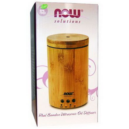 Now Foods, Real Bamboo Ultrasonic Oil Diffuser, 1 Diffuser