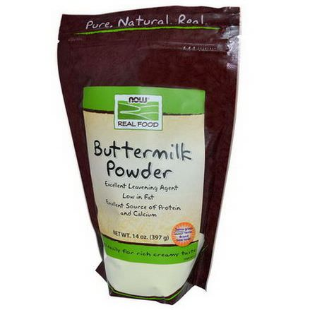 Now Foods, Real Food, Buttermilk Powder 397g