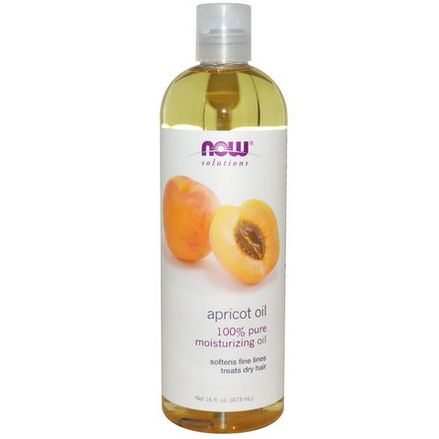 Now Foods, Solutions, Apricot Oil 473ml