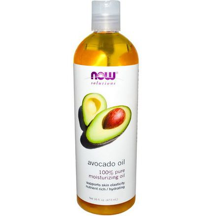 Now Foods, Solutions, Avocado Oil 473ml