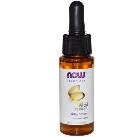 Now Foods, Solutions, E-Oil, 32,000 IU 30ml