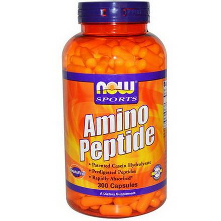 Now Foods, Sports, Amino Peptide, 300 Capsules
