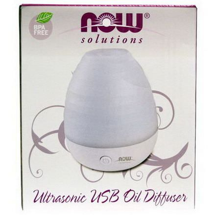 Now Foods, Ultrasonic USB Oil Diffuser, 1 Diffuser