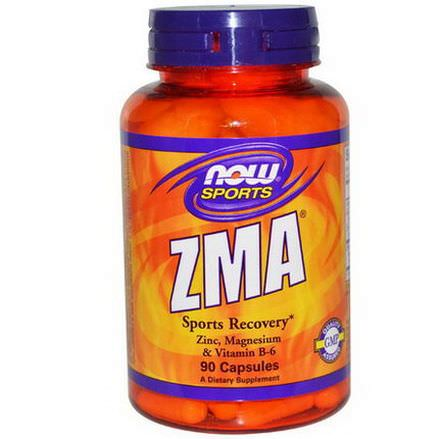Now Foods, ZMA, Sports Recovery, 90 Capsules