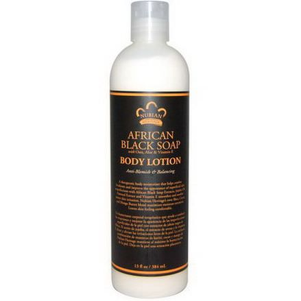 Nubian Heritage, Body Lotion, African Black Soap 384ml