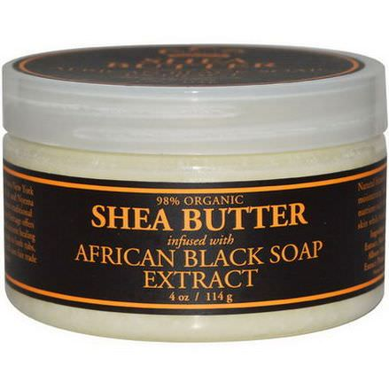Nubian Heritage, Shea Butter, Infused with African Black Soap Extract 114g