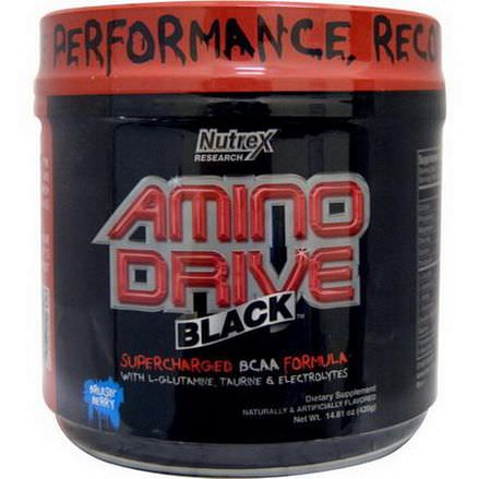 Nutrex Research Labs, Amino Drive, Black Bruisin Berry 420g