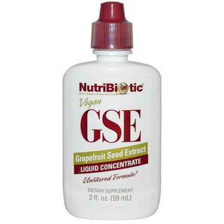 NutriBiotic, GSE Liquid Concentrate, Grapefruit Seed Extract 59ml