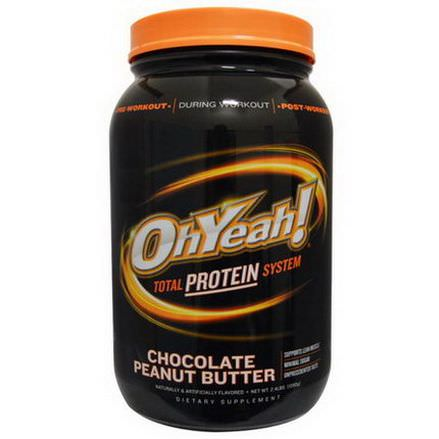 Oh Yeah, Total Protein System, Chocolate Peanut Butter 1090g
