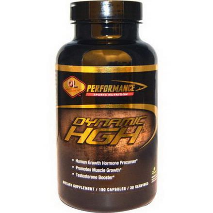 Olympian Labs Inc. Dynamic HGH, 150 Capsules