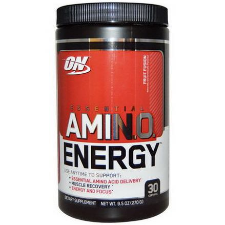 Optimum Nutrition, Essential AmiN.O. Energy, Fruit Fusion 270g