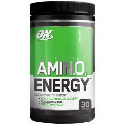 Optimum Nutrition, Essential Amino Energy, Lemon Lime 270g