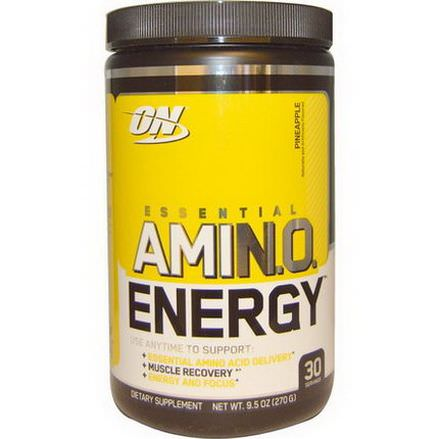 Optimum Nutrition, Essential Amino Energy, Pineapple 270g
