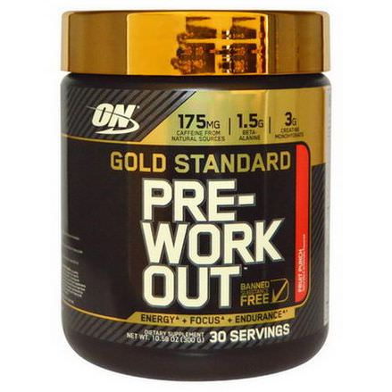 Optimum Nutrition, Gold Standard, Pre-Workout, Fruit Punch 300g