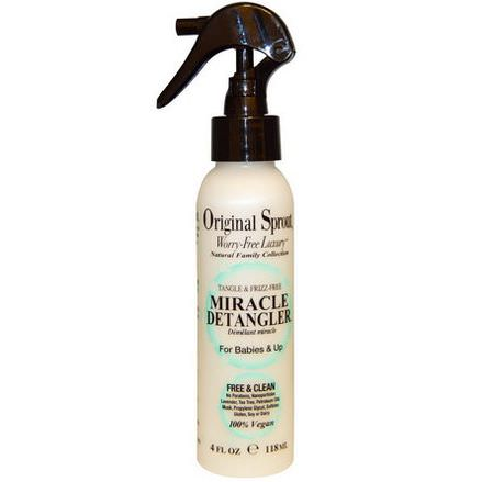 Original Sprout Inc, Miracle Detangler, For Babies&Up 118ml