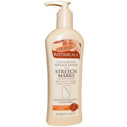 Palmer's, Botanicals, Cocoa Butter Massage Lotion for Stretch Marks 250ml