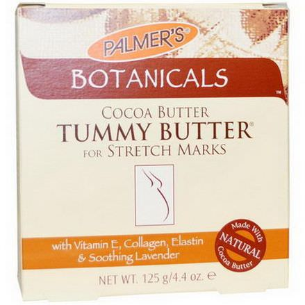 Palmer's, Botanicals, Tummy Butter for Stretch Marks 125g