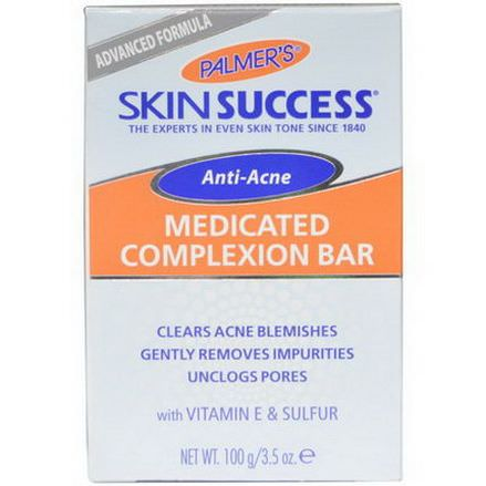 Palmer's, Skin Success, Anti-Acne, Medicated Complexion Bar 100g