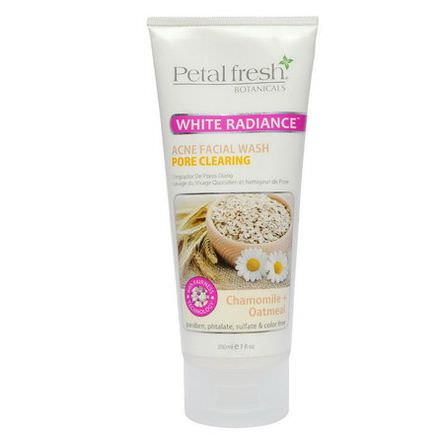 Petal Fresh, Acne Facial Wash, Pore Clearing, Chamomile Oatmeal 200ml