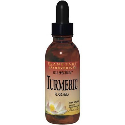 Planetary Herbals, Turmeric, Full Spectrum 29.57ml