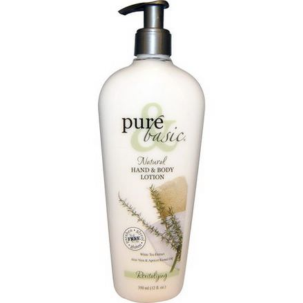 Pure&Basic, Natural Hand&Body Lotion, Revitalizing 350ml