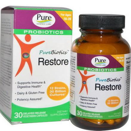 Pure Essence, PureBiotics, Restore Ice