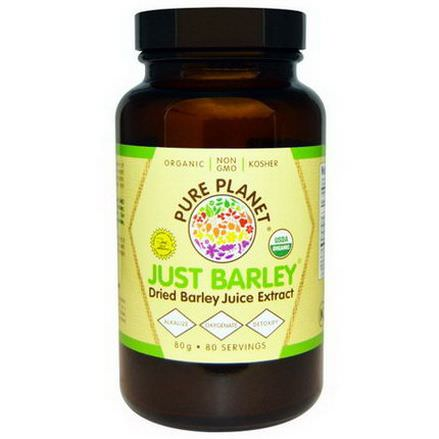 Pure Planet, Organic Just Barley, 80g