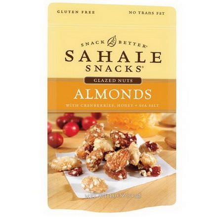 Sahale Snacks, Almonds with Cranberries, Honey Sea Salt 113g