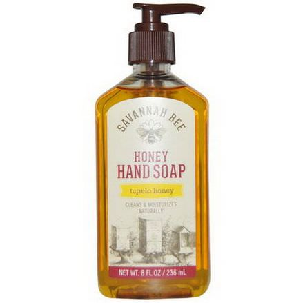 Savannah Bee Company Inc, Honey Hand Soap, Tupelo Honey 236ml