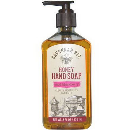 Savannah Bee Company Inc, Honey Hand Soap, Wild Blackberry 236ml