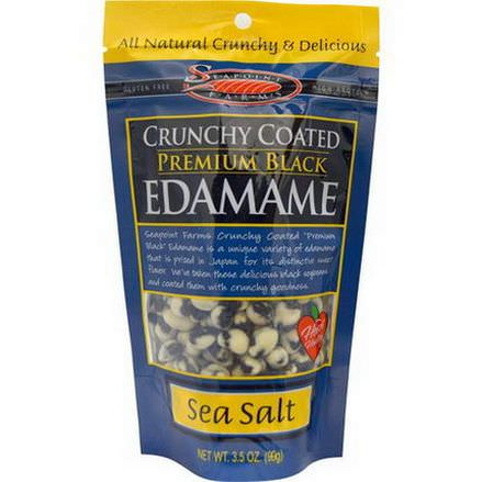 Seapoint Farms, Crunchy Coated Premium Black Edamame Sea Salt 99g