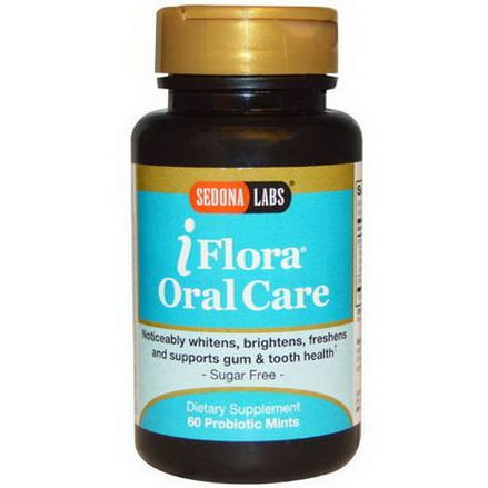 Sedona Labs, iFlora Oral Care, 60 Probiotic Mints