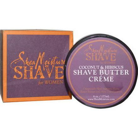 Shea Moisture, Shave Butter Creme for Women, Coconut&Hibiscus 177ml