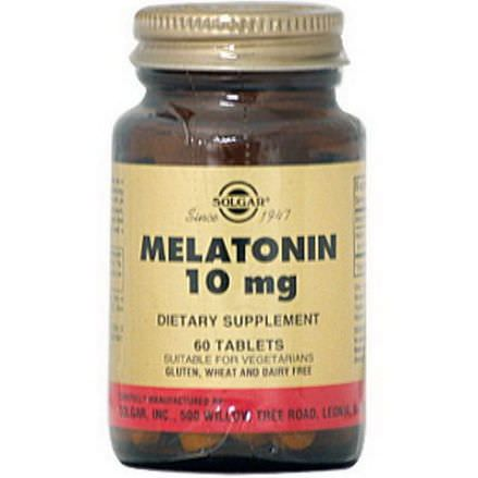 Solgar, Melatonin, 10mg, 60 Tablets