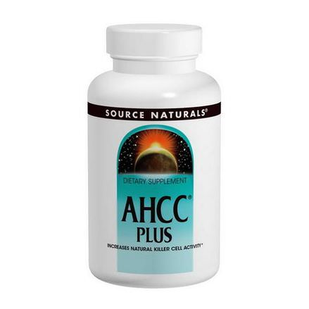 Source Naturals, AHCC Plus, 500mg, 60 Capsules