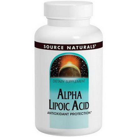 Source Naturals, Alpha Lipoic Acid, 100mg, 120 Tablets