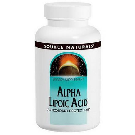 Source Naturals, Alpha Lipoic Acid, 200mg, 120 Tablets