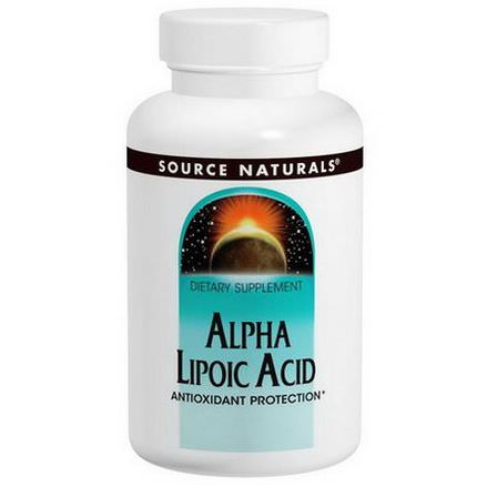 Source Naturals, Alpha Lipoic Acid, 300mg, 60 Capsules