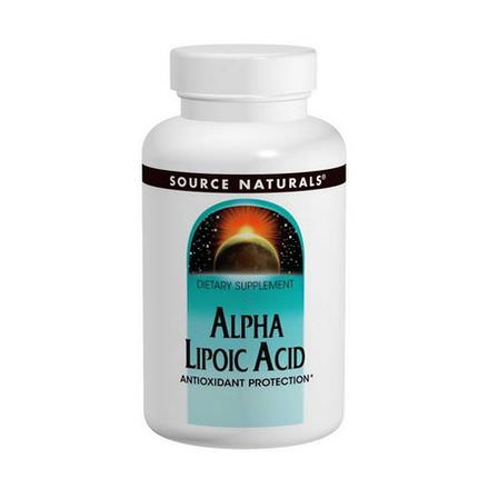 Source Naturals, Alpha Lipoic Acid, 50mg, 100 Tablets