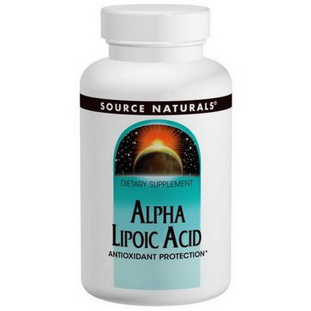 Source Naturals, Alpha Lipoic Acid, 600mg, 60 Capsules