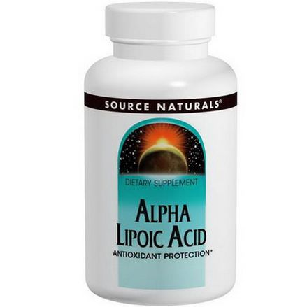 Source Naturals, Alpha Lipoic Acid, Timed Release, 300mg, 60 Tablets