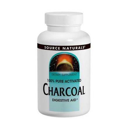 Source Naturals, Charcoal, 260mg, 200 Capsules