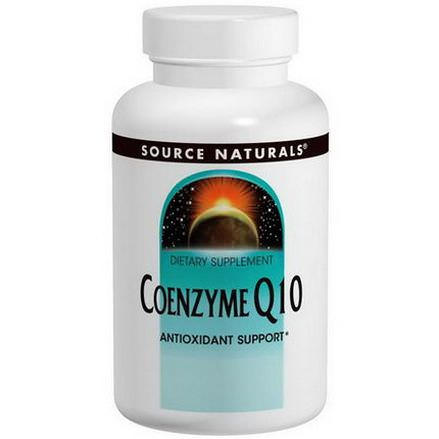 Source Naturals, Coenzyme Q10, 200mg, 60 Capsules