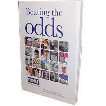 Special, Now Foods, Beating the Odds, by Dan Richard, 112 Pages, Paper-Back Book