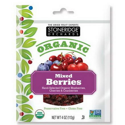 Stoneridge Orchards, Organic, Mixed Berries 113g