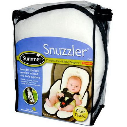 Summer Infant, Snuzzler, Complete Head&Body Support from Birth - 1 Year