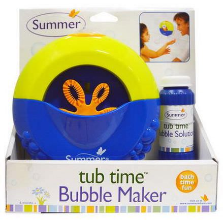 Summer Infant, Tub Time, Bubble Maker